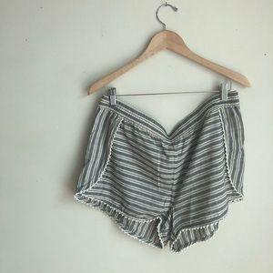 Madewell Shorts - NWT Madewell Oahu Striped Beach Shorts